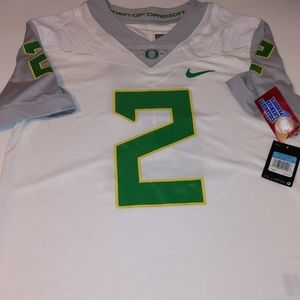 Nike Shirts - Nike Oregon Ducks Jersey No. 2